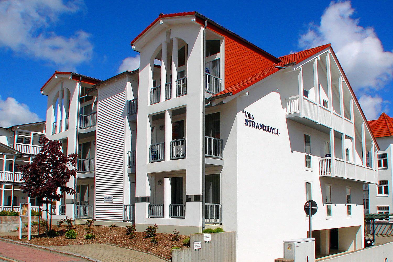 Villa Strandidyll Neubau, direkt hinter der Villa Strandidyll